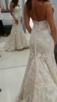 abito da sposa usato vendo