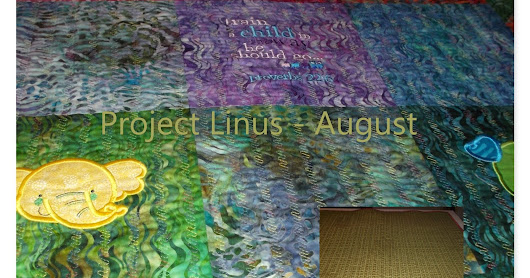 August Project Linus Blanket