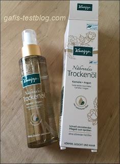 Zur Körper- ,Gesichts- und Haarpflege- Nährendes Trockenöl von Kneipp