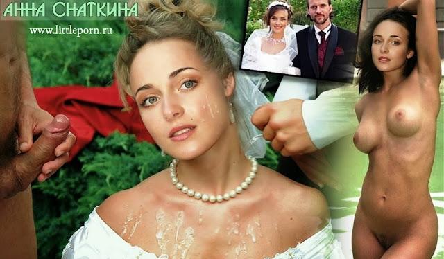 голая Анна Снаткина в порно ххх-фильме «Татьянин День»