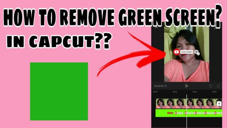 Cara Menghilangkan Green Screen di Capcut