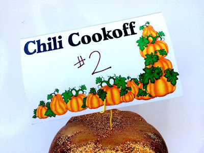 Chili Cook Off Voting Card Printables for your Fall Festival