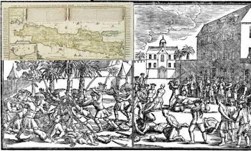 Pasukan Bugis Memadamkan Pemberontakan Orang Cina di Jawa
