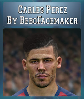 PES 2017 Faces Carles Perez by Bebo