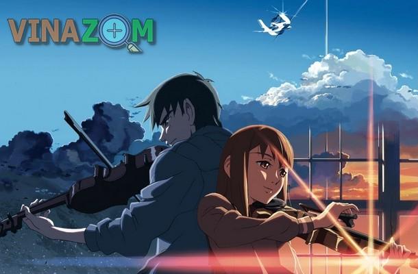 Phim hoạt hình lẻ Nhật Bản - Movie phía bên kia bầu trời, nơi ta hẹn ước