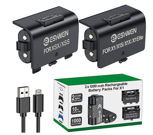 ESYWEN Rechargeable Battery Packs for Xbox One