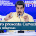 """Nicolás Maduro presenta el carvativir, """"las gotitas milagrosas"""" que neutralizan el COVID en un 100%"""