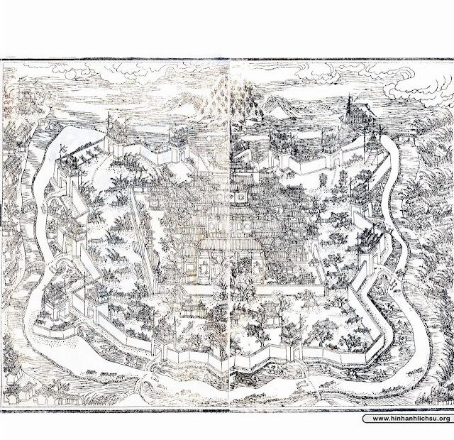 Bộ ảnh xưa Thần kinh nhị thập cảnh thuộc triều đại nhà Nguyễn