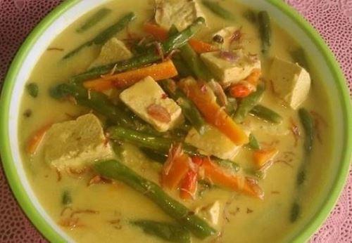 resep sayur kuah gurih warna hijau