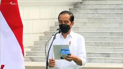Jokowi: Kalau Pembatasan Dilonggarkan, Kasus Corona Naik Lagi Lalu Faskes Kolaps