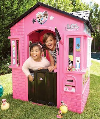 Игровой домик для детей Лол Сюрприз