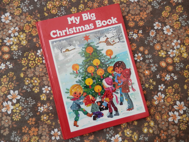 Charity shopping - the one with the Gottschlich hedgehogs. And My Big Christmas Book illustrated by Gisela Gottschlich. secondhandsusie.blogpsot.com #charityshopping #ebay #secondhand #giselagottschlich