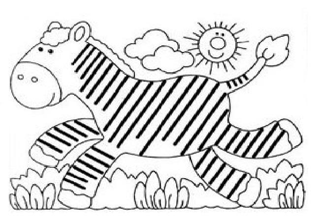 Desenho De Letra Z De Zoológico Para Colorir: Figuras Com A Letra J Para Colorir