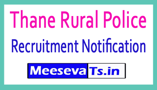 Thane Rural Police Recruitment