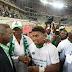 Photos Of Senate President, Bukola Saraki Congratulating Super Eagles Players