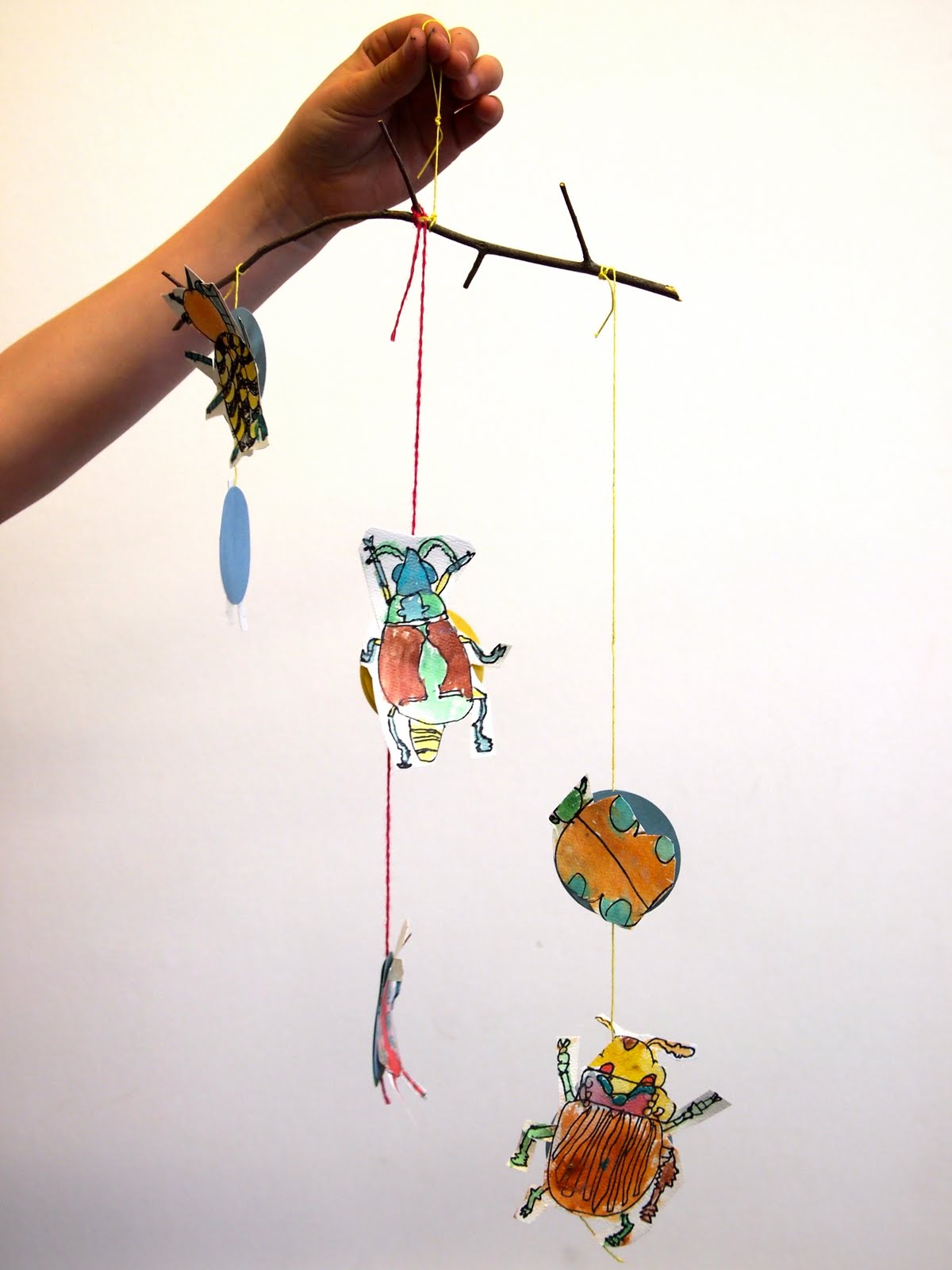 New City Arts First Grade Insect Mobiles