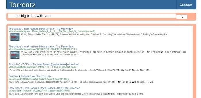 Popular and Active Torrent Download Sites Torrentz2