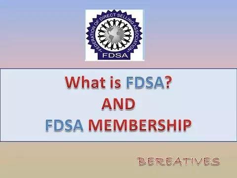 FDSA Kya Hai, FDSA Membership, FDSA Full Form, FDSA Company List 2021,FdsaTop 10 Companies, FDSA Members, FDSA membership company list