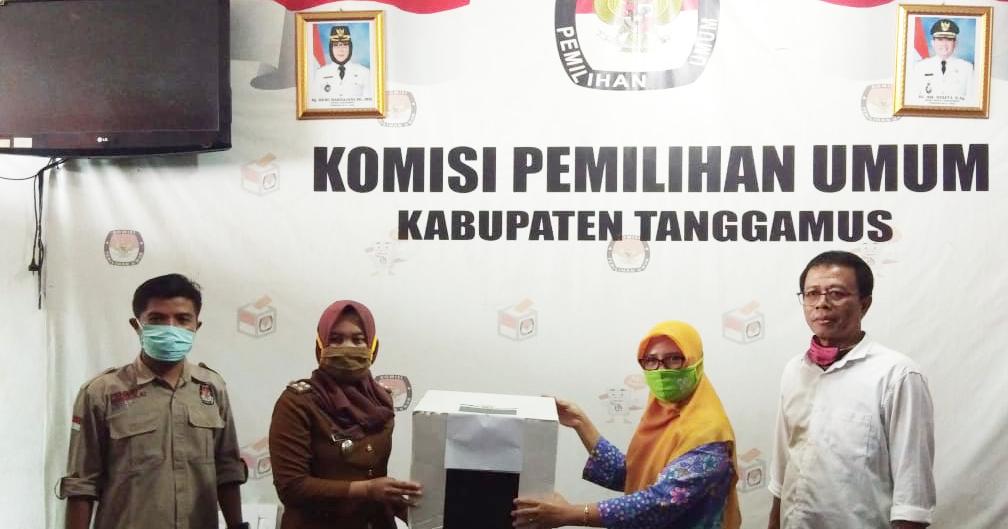 Kpu Kabupaten Tanggamus Kpu Tanggamus Serahkan Kotak Dan Bilik Suara Kepada Pemerintah Daerah Kabupaten Tanggamus