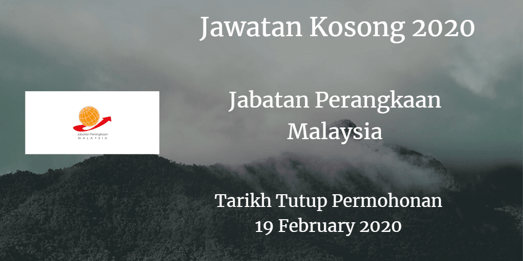 Jawatan Kosong Jabatan Perangkaan Malaysia 19 Februari 2020
