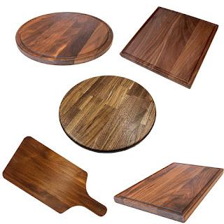 Thớt làm từ gỗ Walnut
