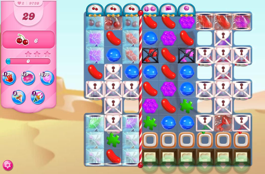 Candy Crush Saga level 9720