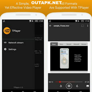 TPlayer – All Format Video Player v3.1b [Ad-Free] [Latest] Apk