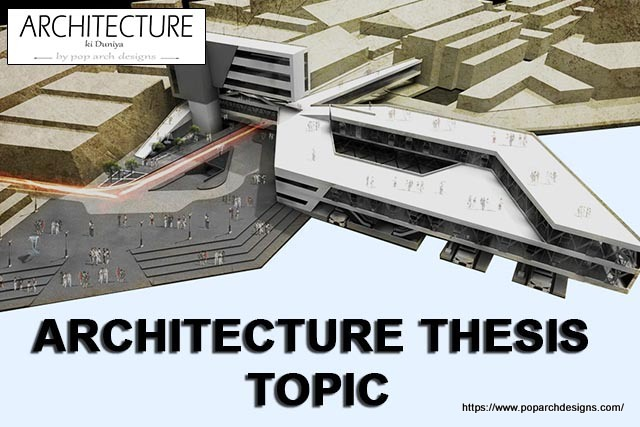 architecture thesis topic