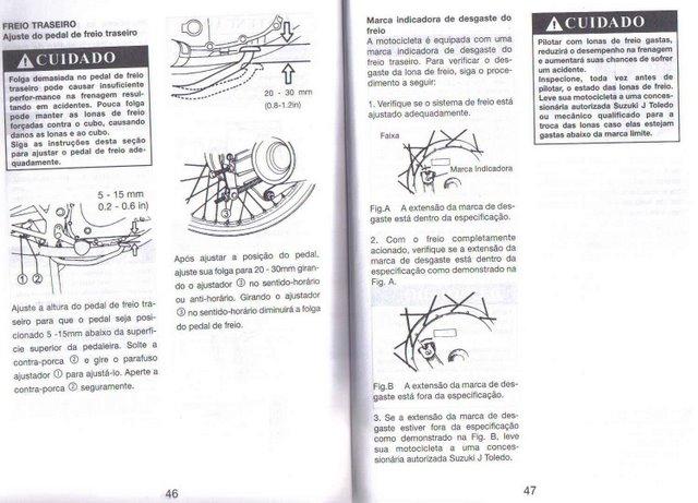 Manual do Proprietário Intruder 125