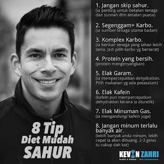 Tips Diet Mudah Sahur