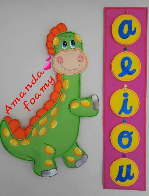6- Dinosaurios y Vocales