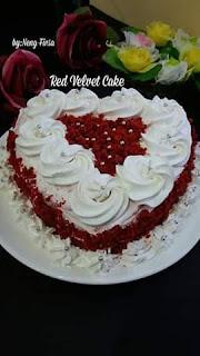Resep Red Velvet Cake Sederhana