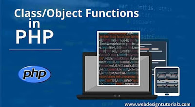 PHP Class/Object Functions