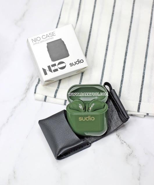 Sudio NIO Case Review wireless earphones Penang Malaysia Blogger Influencer KOL www.barryboi.com