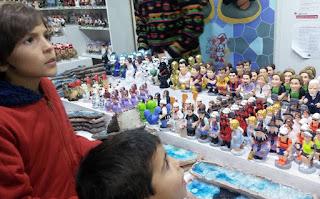 Mercado de Navidad de la Sagrada Familia.