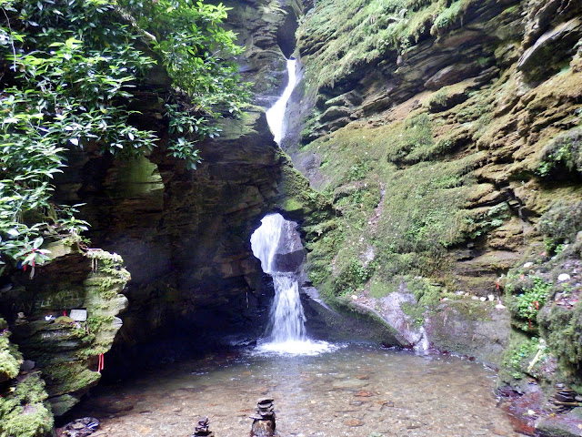 St.Nectan's Waterfall and Kieve, Cornwall
