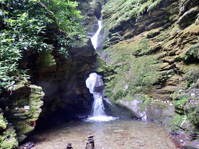 St.Nectan's Waterfall and Kieve, Cornwall