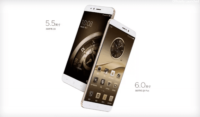 360 Q5 & Q5 Plus Smartphones Goes Official In China