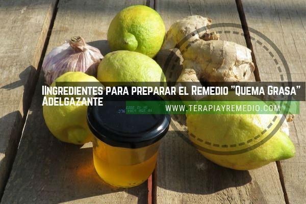 Remedio casero para quema de grasa y perder peso. Ingredientes hecho con plantas aromáticas