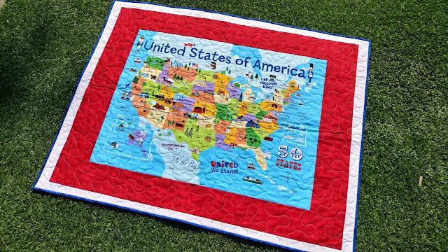 USA panel quilt