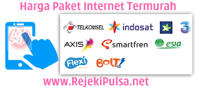 RejekiPulsa.Net Agen Kuota Data Paket Internet Termurah