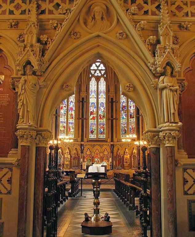 Capela do College de Exeter, Grã-Bretanha.