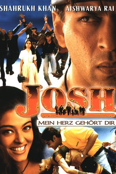 Poster of Josh (2000) Full Movie Hindi 720p DVDRip ESubs Download