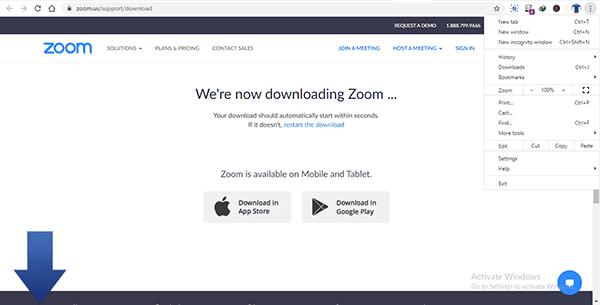 cara instal aplikasi zoom di pc windows dan mac
