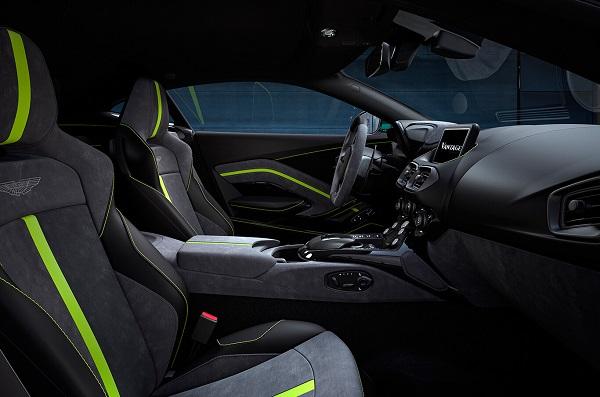 Interior Aston Martin Vantage F1 Edition