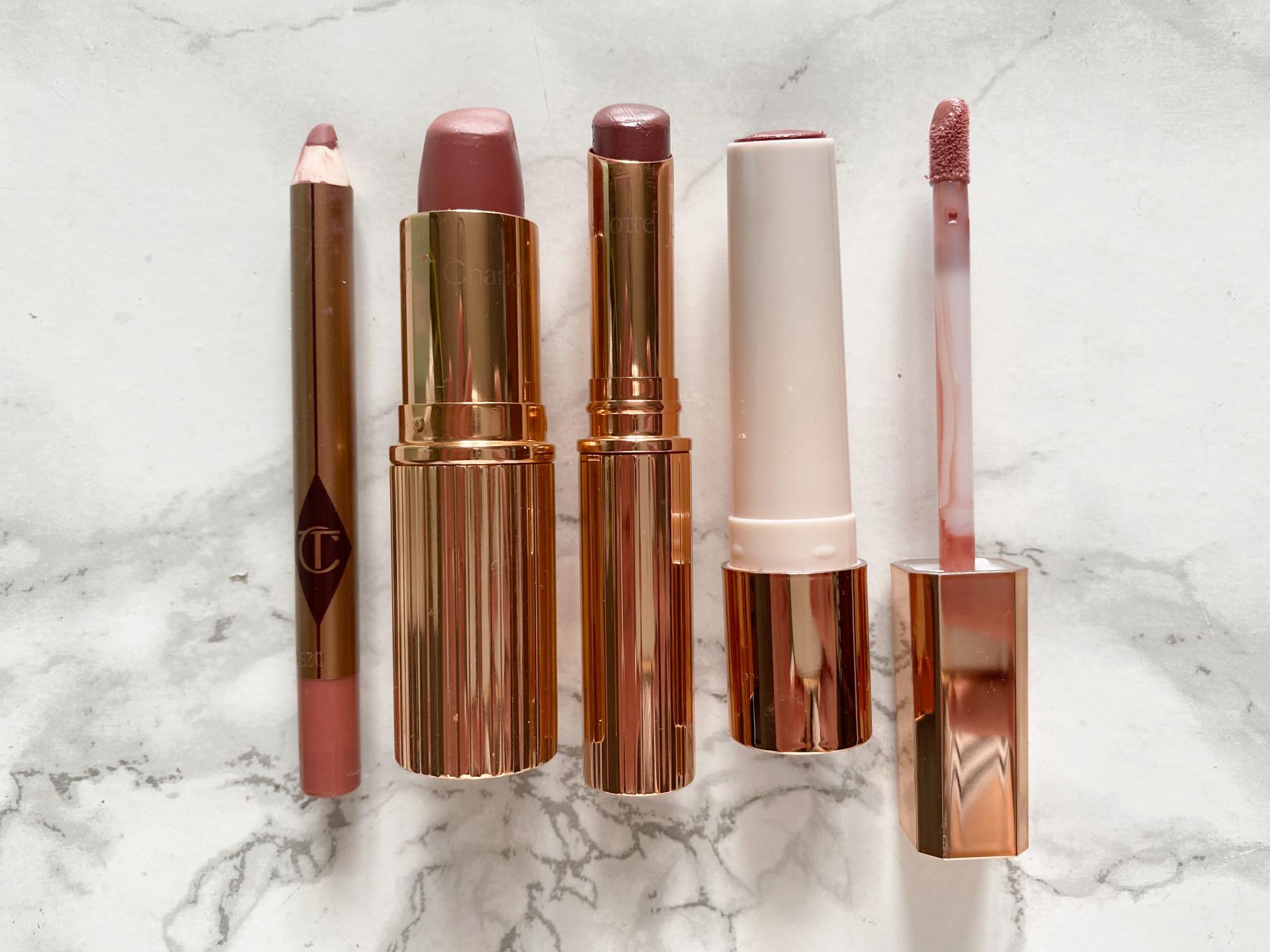 charotte tilbury pilowtalk lip products
