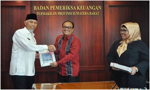 Di Belanja Infrastruktur Kota  Padang ,LHPK Temukann Pengerjaan Yang Di Bawah Spek.