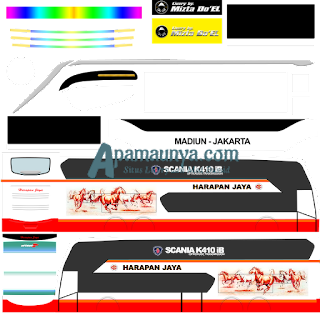 Link Download Livery Bus JB2+ SDD Harapan Jaya
