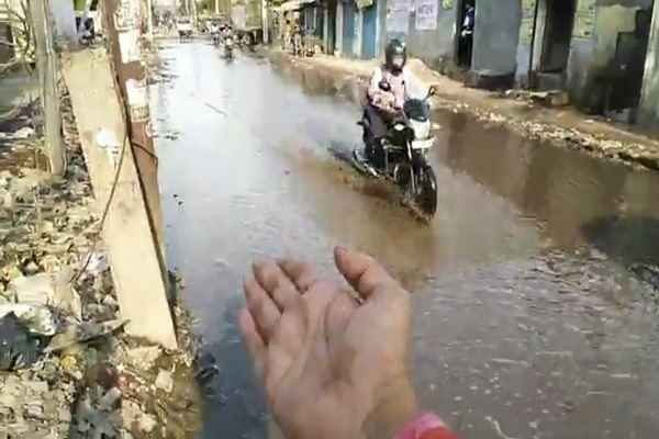 faridabad-mujesar-fatak-become-narak-ward-13-ballabhgarh-vidhansabha