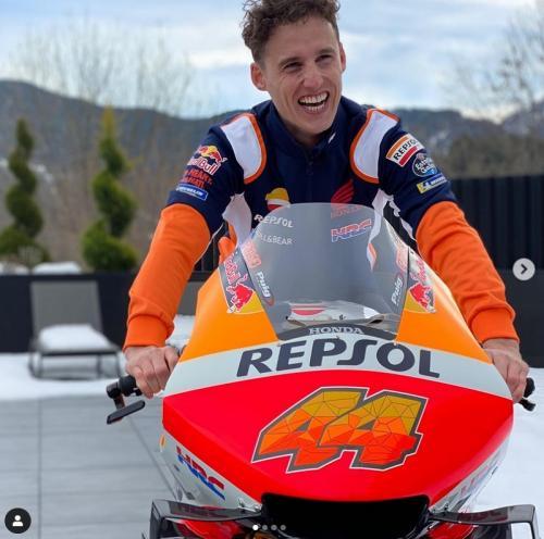 Intip Nih Pol Espargaro Saat Pertama Kali Menunggangi Honda RC213V